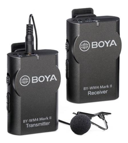 Microfone Boya By-wm4 Lapela Sem Fio - Câmera E Celular  Nfe