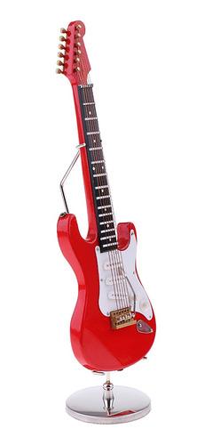 Imagen 1 de 12 de Miniatura Juguete De Escala 1:6 Guitarra Eléctrica Color