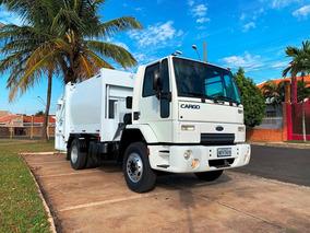 Caminhão Compactador De Lixo Ford Cargo 1317 Impecável !!!