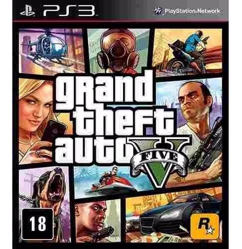 Gta V Ps3 Psn Jogo Digital Playstation 3