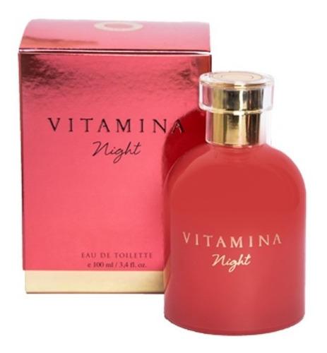 Imagen 1 de 2 de Perfume Vitamina Night Mujer X 100ml Original