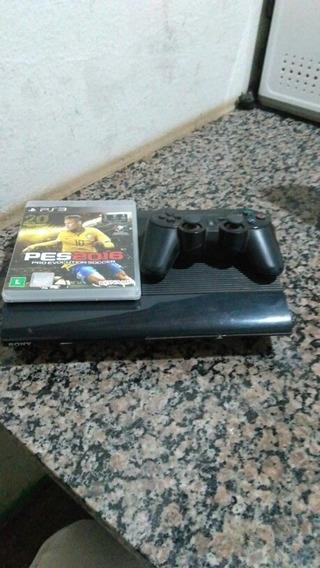 Vendo Playstation 3 Com Jogo 600 Reais