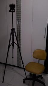 Tripé Semi Profissional Para Celular Ou Camera Até 1,80 Mts