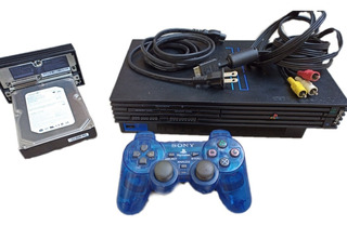 Consola Play Station 2 Con Hdd De 320 Gb
