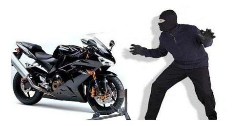 Anclaje Antirrobo Rueda Moto Wheel Chock Security En Cuotas