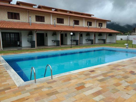 Sobrado Com 02 Dorms, Massaguaçu, Caraguatatuba - R$ 250.000,00, 87m² - Codigo: 55 - V55