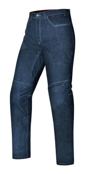 Calça Jeans Azul Moto Proteção Joelo Kevlar X11 Ride Tam. 44