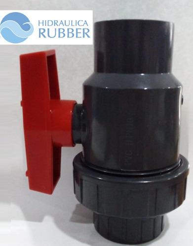 Imagen 1 de 7 de Válvula Uniblock Vasser D50 X3 Unidades Hidráulica Rubber