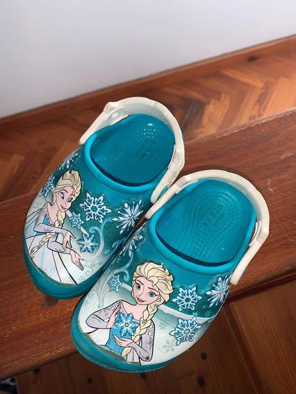 Crocs Elsa Frozen Sueco Infantil