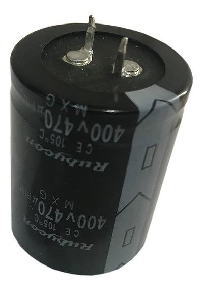 Capacitor Electrolitico 470uf X400v (35x45mm) Blindado X 1