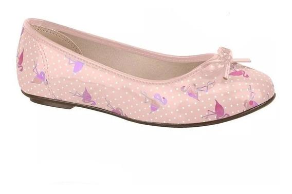 Sapatilha Infantil Molekinha 2052336 Flamingos Promoção