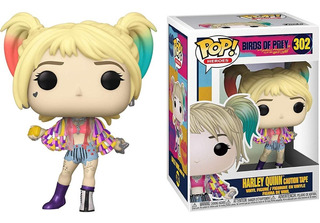 Funko Pop Birds Of Prey Harley Quinn Caution