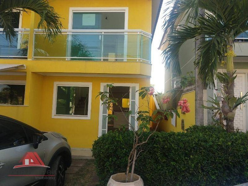 Duplex  Com 2 Quartos No Condomínio  Residencial Das Palmeiras Em Guaratiba - Ca0019