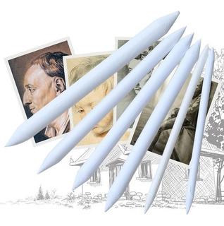 Set 6 Esfuminos Para Dibujo Lápiz Profesional Papel Arte