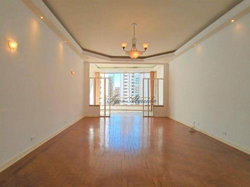 Apartamento Com 3 Dormitórios, 218 M² - Venda Por R$ 1.800.000,00 Ou Aluguel Por R$ 5.500,00/mês - Higienópolis - São Paulo/sp - Ap47634