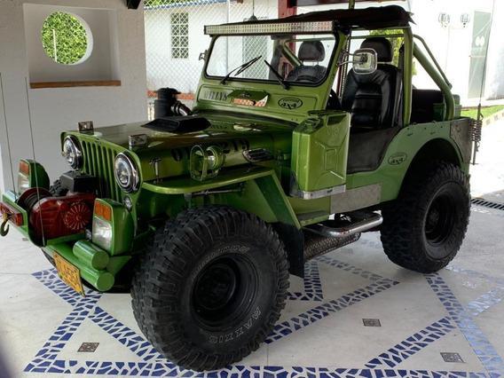 Jeep Willys 1950 Unico En El Pais