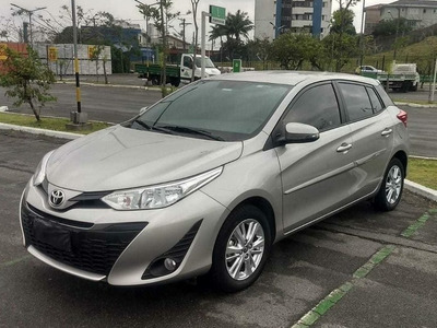 Toyota Yaris 1.3 Xl Plus Tech 16v Cvt 5p 2019