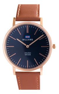 Reloj Hombre Williams Analogíco Sumergible Wih0065-anl-2a1