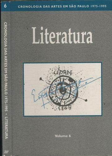 Cronologia Das Artes Em São Paulo 1975 - 1995 - Literatura -