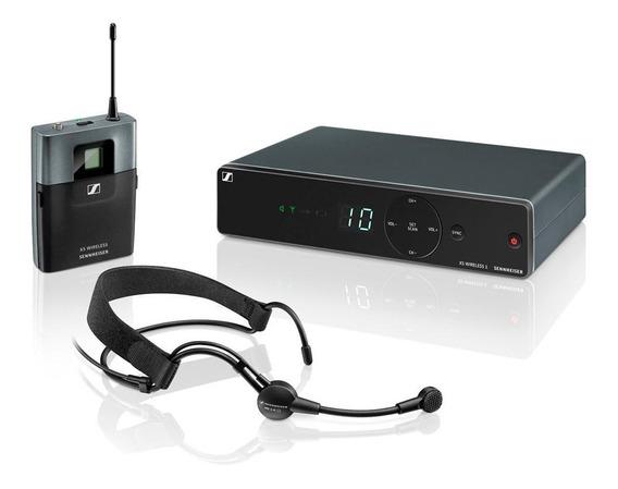 Microfone Sem Fio Sennheiser Xsw1 Me3a Headset Original