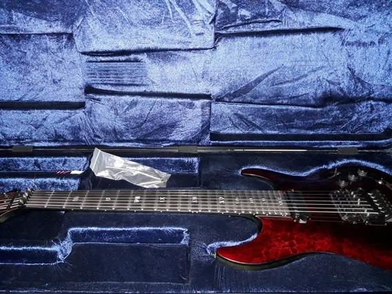 Guitarra Schecter C-7 Fr S Apocalypse Red Reign(con Case)