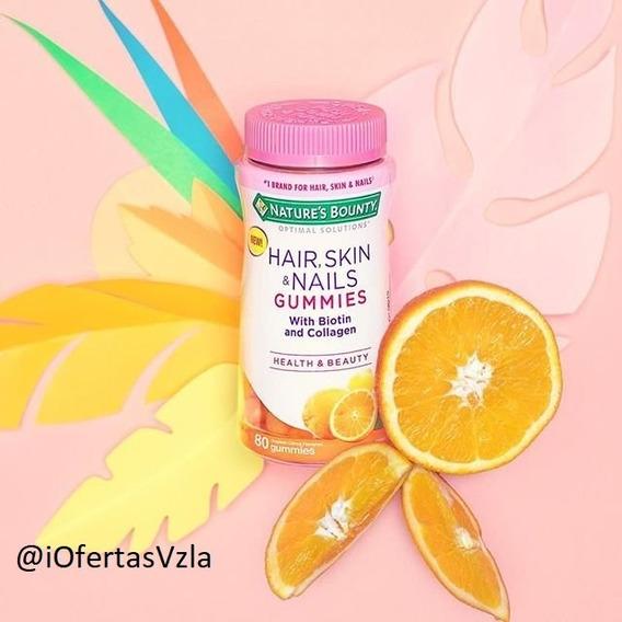 Vitaminas Mujer Cabello/piel/uñas Natures Bounty (12usd)