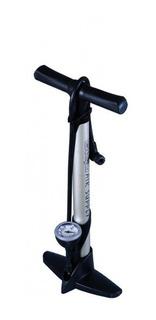 Inflador Pie Bicicleta Mazzi Gf-35 Aluminio Manometro - Racer Bikes