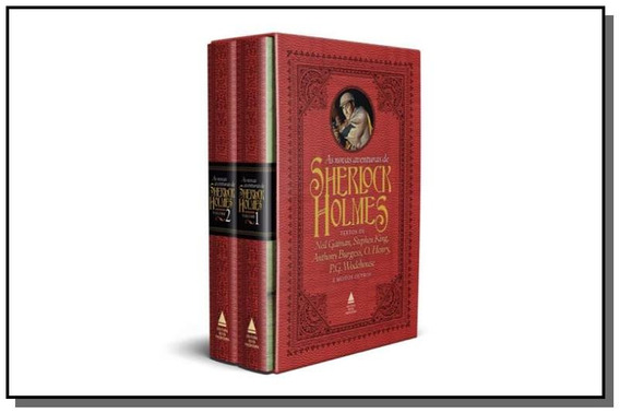 Box As Novas Aventuras De Sherlock Holmes - Nova Fronteira