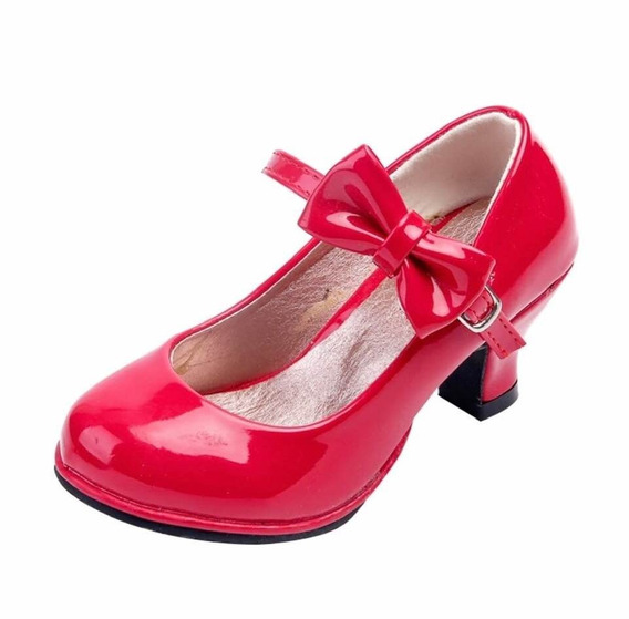 Zapato Rojo Disfraz Mago De Oz O Caperucita Roja