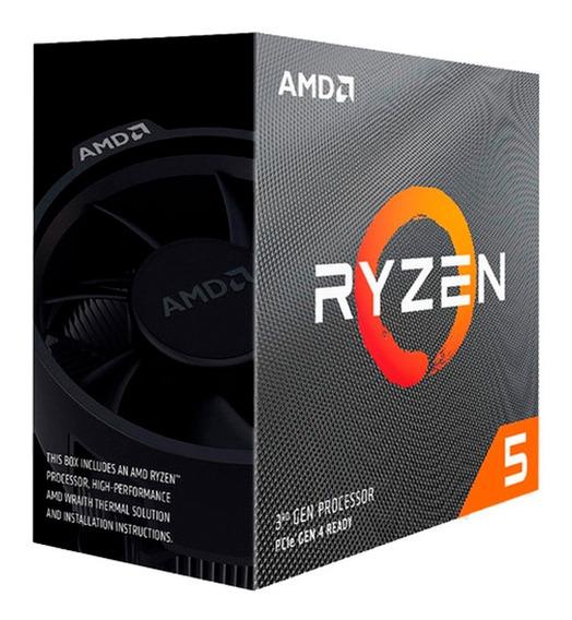 Micro Procesador Amd Ryzen 5 3600xt 4.5ghz Am4 Logg