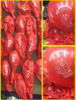 Bombas Estampadas Personalizadas Decoracion Fiestas