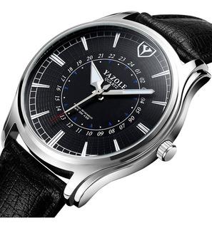 Reloj Hombre - Lujo Exclusivo + Caja De Regalo - Oferta