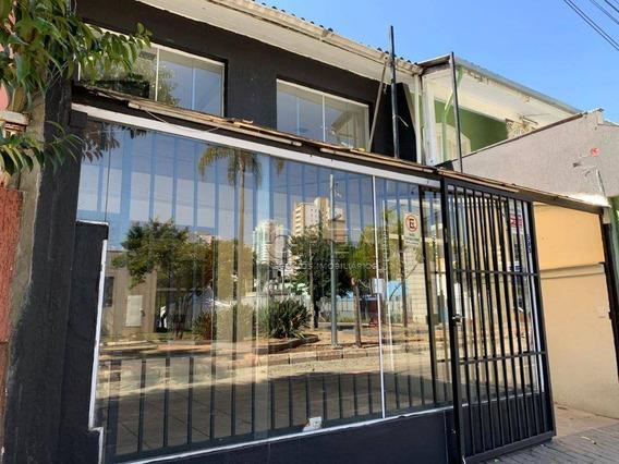Salão Para Alugar, 170 M² Por R$ 6.000,00/mês - Santa Paula - São Caetano Do Sul/sp - Sl0173