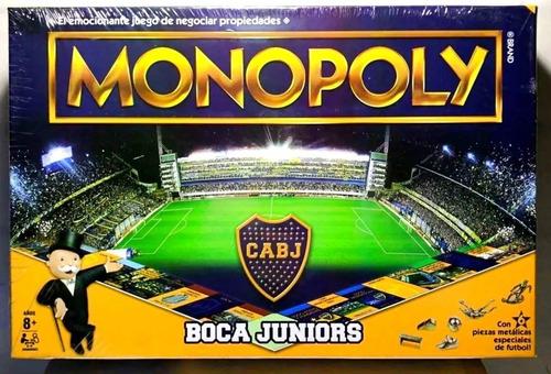 Imagen 1 de 10 de Monopoly Boca Juniors Juego De Mesa Original Toyco Hasbro