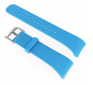 Pulseira Fitness Samsung Gear Fit2 Sm-r360 Azul Muito Top!!