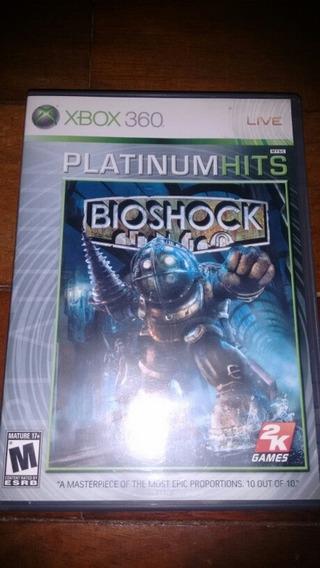 Bioshock Xbox 360/one Completo Semi Novo
