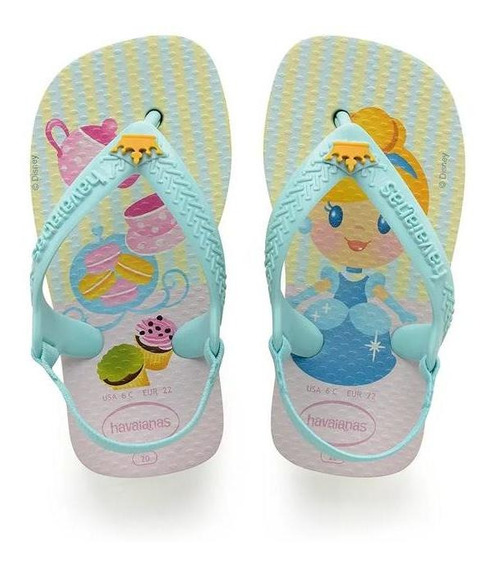 Havaianas Sandalias Kids - New Baby Princess Cinderella