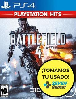 Battlefield 4 Ps4 Juego Fisico Nuevo Sellado Canje Sevengame