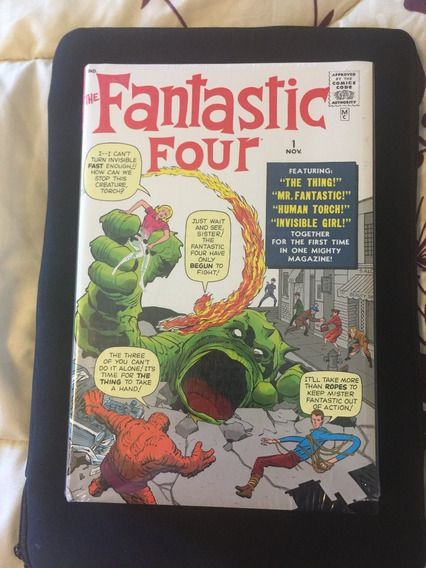 The Fantastic Four Omnibus Vol 1 Stan Lee And Jack Kirby