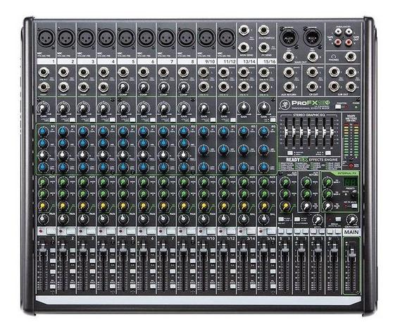 Mesa De Som Mackie Profx16 V2 16 Canais Com Phantom Power