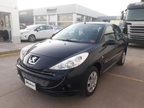 Peugeot 207 Compact Color Negro Año 2013