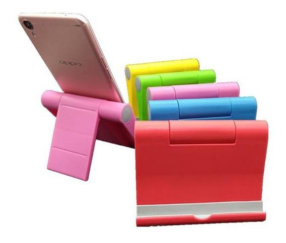 Suporte De Mesa Universal Celular Tablet Smartphone