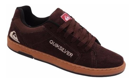 Tênis Quiksilver Camurça Skate Lançamento Promoção