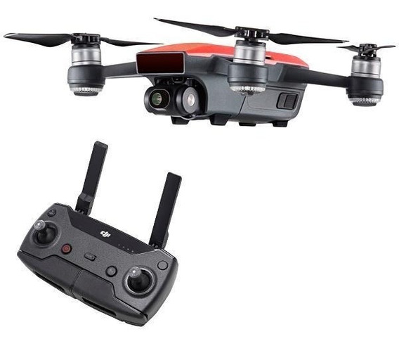 Drone Dji Spark Fullhd 12mp Fly More + Controle + 2 Baterias