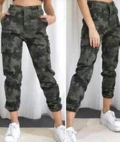 Bolsillos Calidad Oferta Militar Cargos Mujer Verde rdCeBWQxoE