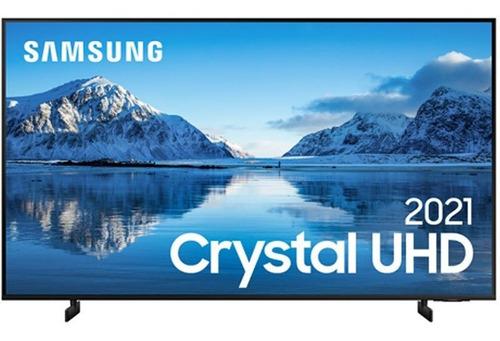 Imagem 1 de 4 de Smart Tv Samsung 75 Crystal Uhd 4k Un75au8000gxzd Painel Dyn