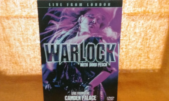 Dvd Warlock With Doro Pesch - Live From London