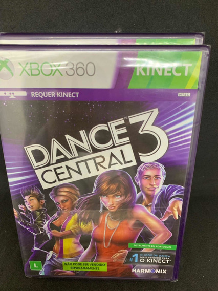 Jogo Dance Central 3 Xbox 360 Lacrado Pronta Entrega