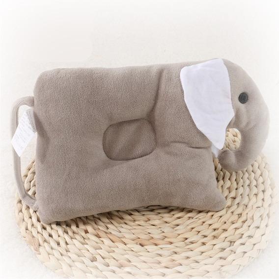Almofada De Elefante Em Algodão Para Bebê