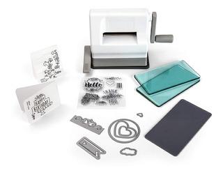 Máquina De Troquelado Manual Sizzix Con Base De Montaje Por